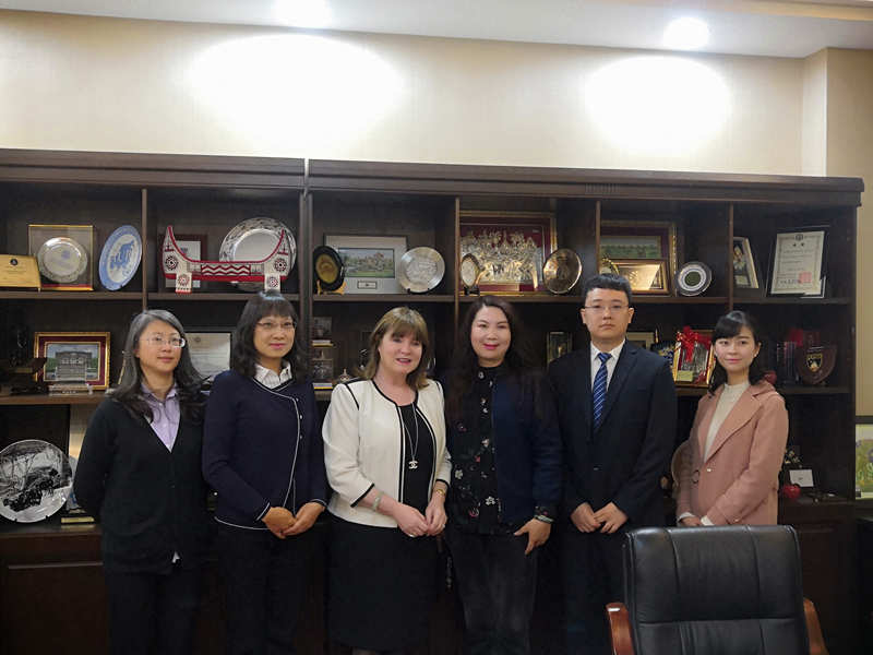 The University of Ulster Delegation was Invited to Visit Yunnan Normal University