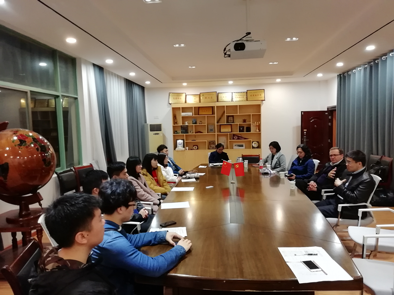 UNI Delegation was Invited to visit Nanchang Hangkong University