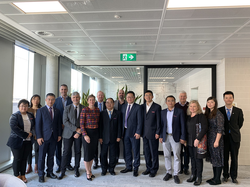 Yunnan Normal University Delegation was invited to visited AEMG partner universities in Australia
