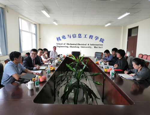 Swinburne University of Technology Delegation was Invited to Visit Shandong University, Weihai and the Joint Research Centre in Advanced Manufacturing in Weihai Lingang District