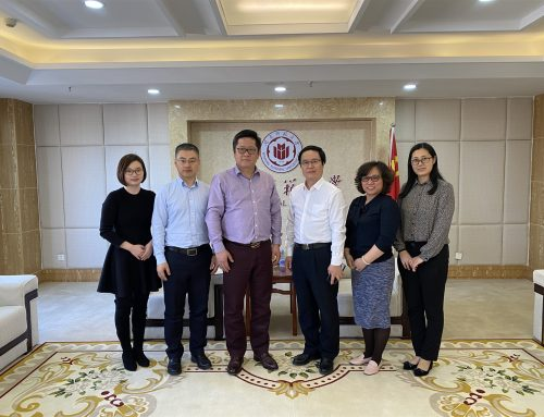 AEMG Group Invited to Visit Partner Universities in China